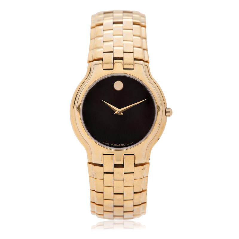 Movado Celestina 35 mm Museum Dial Wrist Watch
