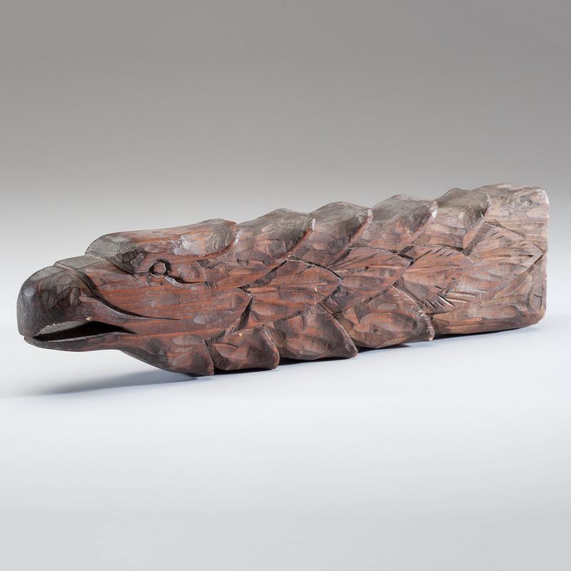 Carved Eagle Figure
