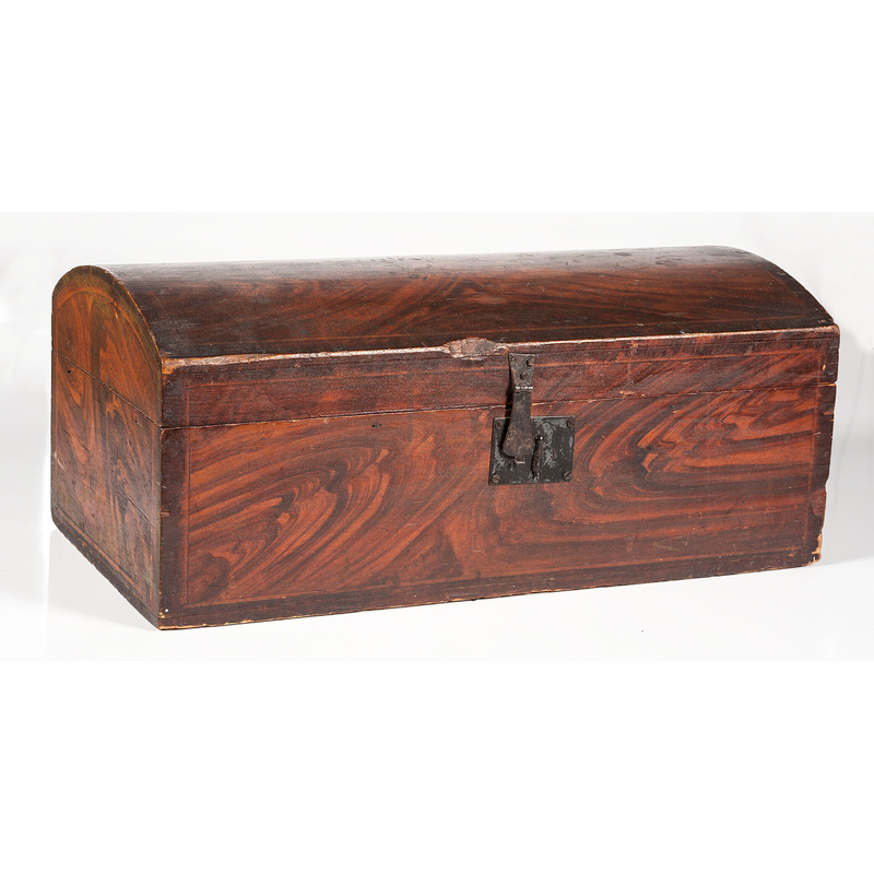 Grain Painted Dome Top Box
