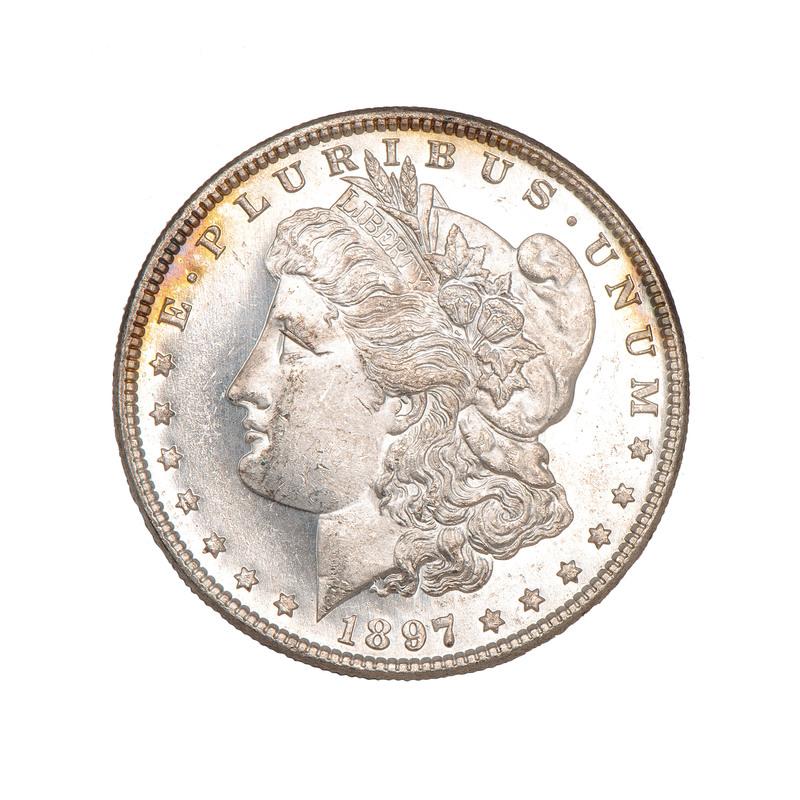 United States Morgan Silver Dollar 1897