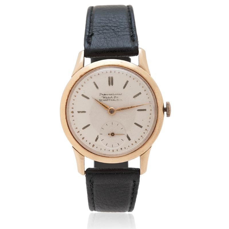 International Watch Company 14 Karat Yellow Gold Watch Ca. 1950