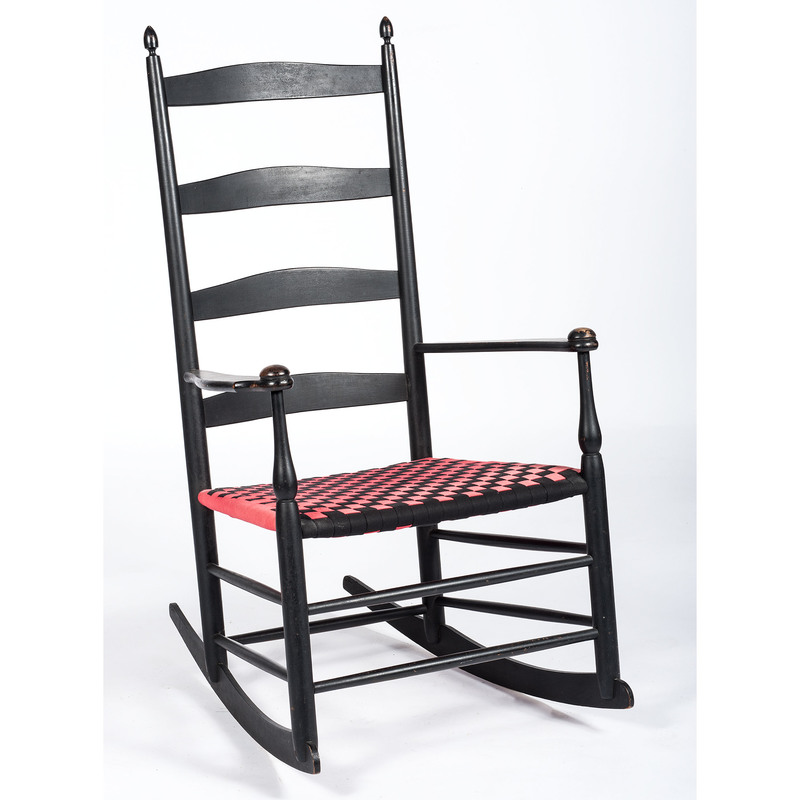 Shaker No. 6 Rocker with Taped Seat