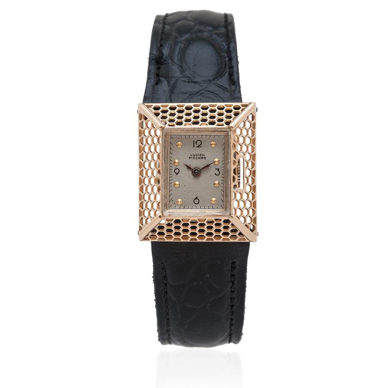 Lucien Piccard Wrist Watch in 14 Karat Yellow Gold