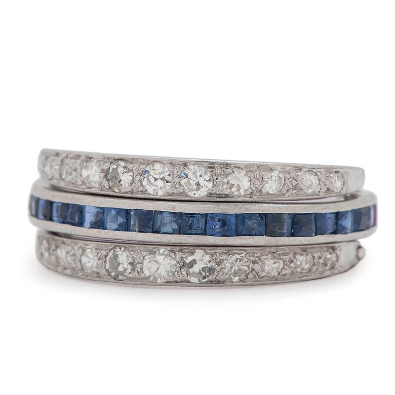 Platinum Convertible Eternity Ring