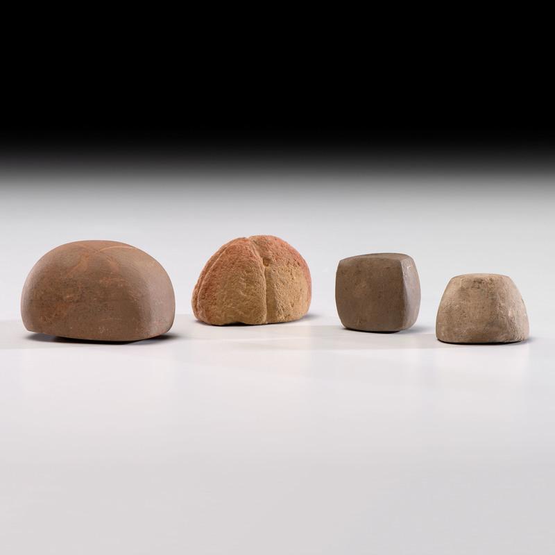 Four Loafstones, Longest 2-1/4 in.