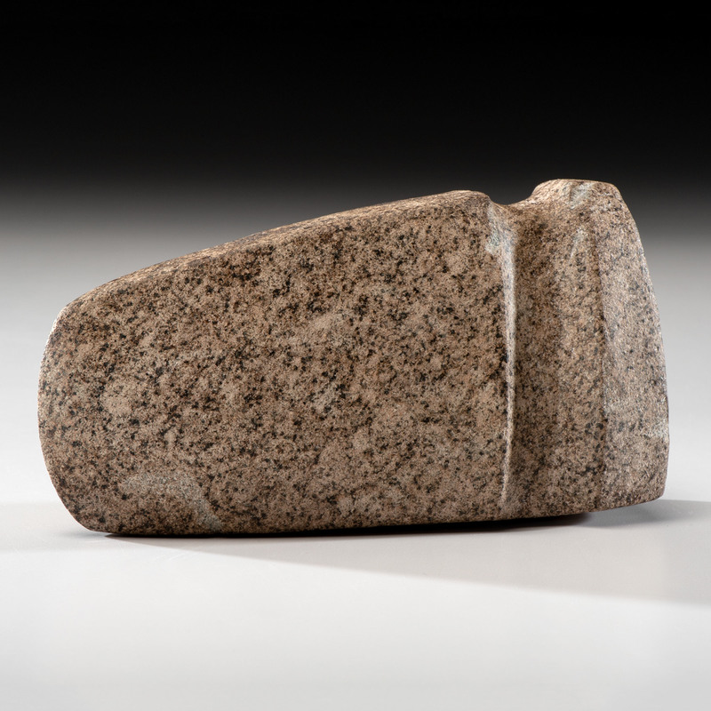A Granite 3/4 Grooved Axe, 6-3/4 in.