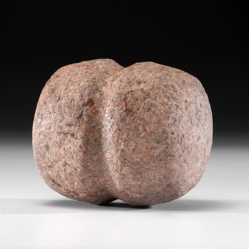 A Pink Granite Hammerstone, 6-3/8 in.