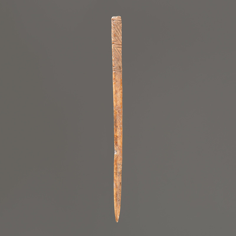 An Engraved Hairpin, 5 in.