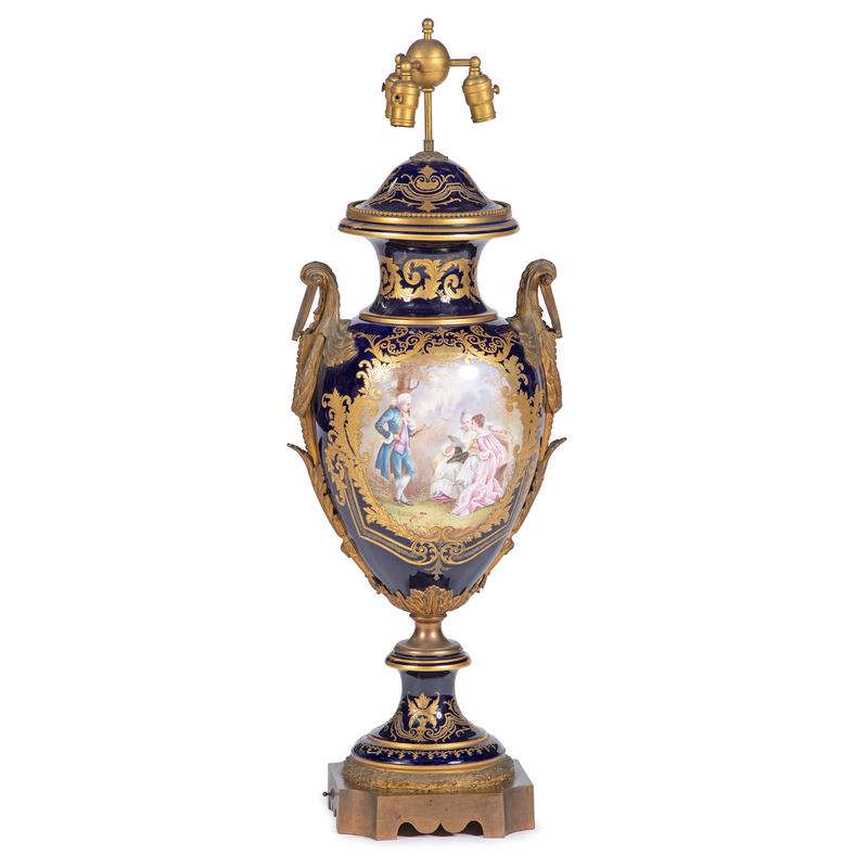 Monumental Sevres-style Urn