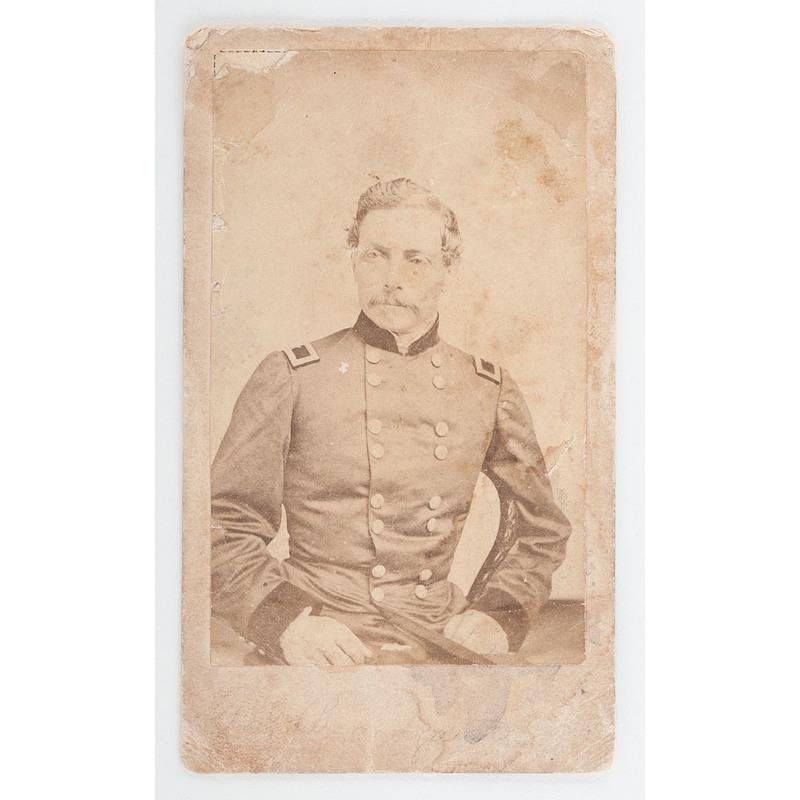 Civil War Era Southern Cdv Album Including Pgt Beauregard