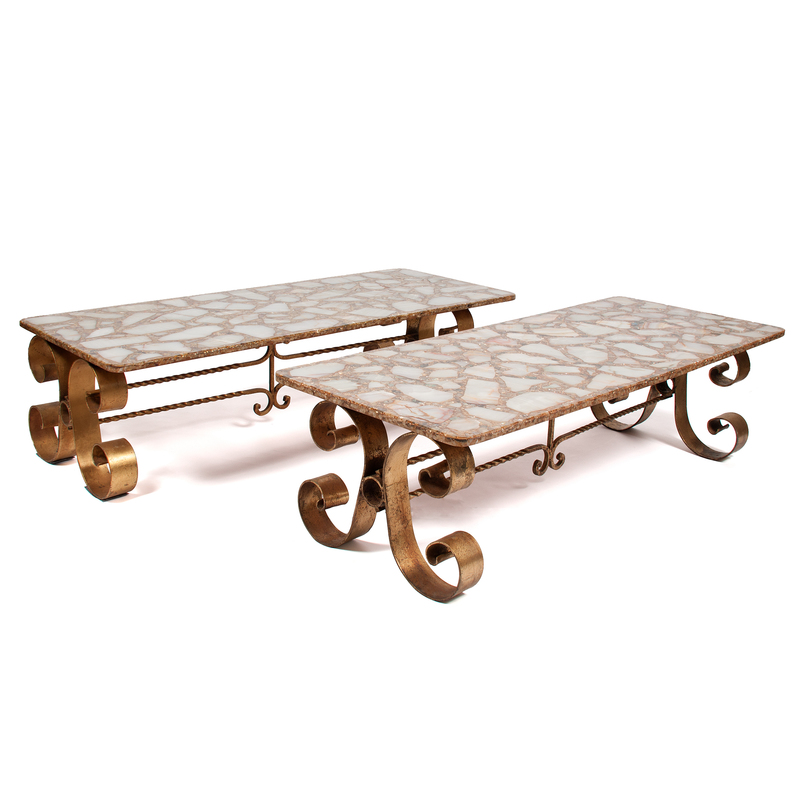 Pair of Coffee Tables attributed to Arturo Pani (Mexican, 1915–1981)