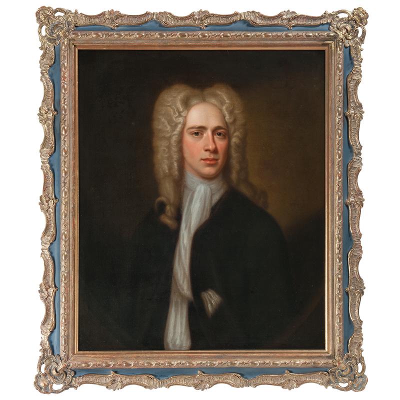 American School, 18th Century Portrait of a Man