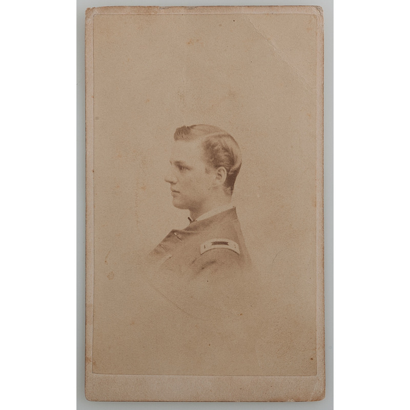 CDV of Lieutenant Colonel Duncan Pell, Rhode Island 1st Infantry and US Volunteers Adj. General's Dept.