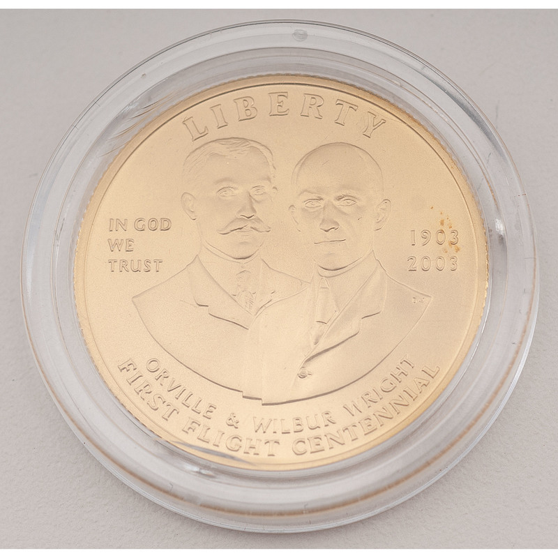 United States First Flight Commemorative Centennial Gold $10 2003-W