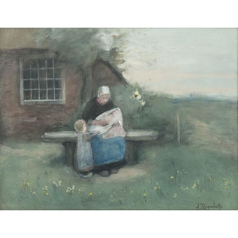 Arina Hugenholtz (Dutch/American, 1848-1934)