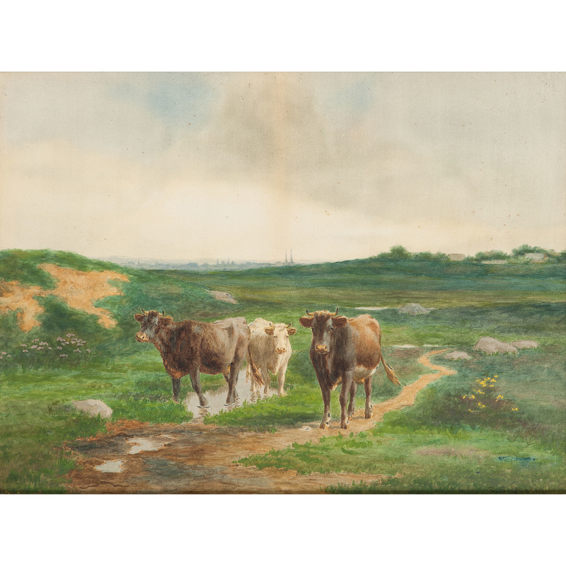 Silas Dustin (American 1855-1940)