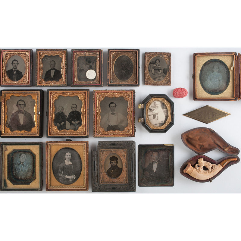 Miscellaneous Daguerreotypes and Ambrotypes, Plus