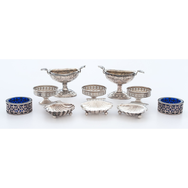 Silver Salts and Condiments