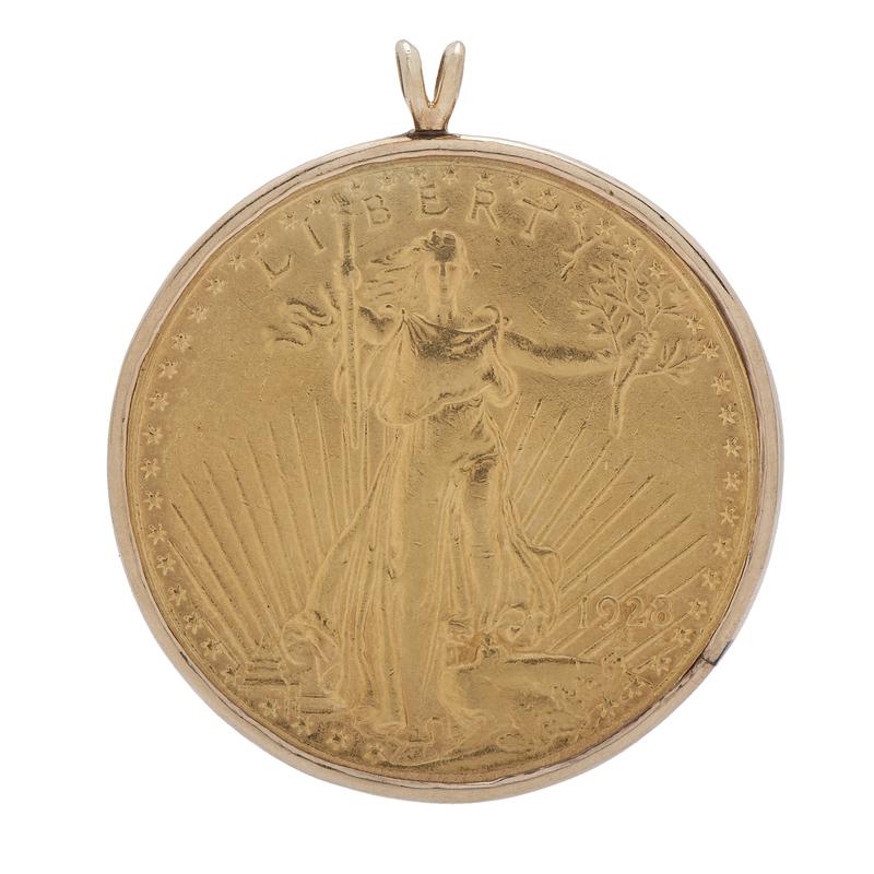 Saint-Gaudens Double Eagle Pendant