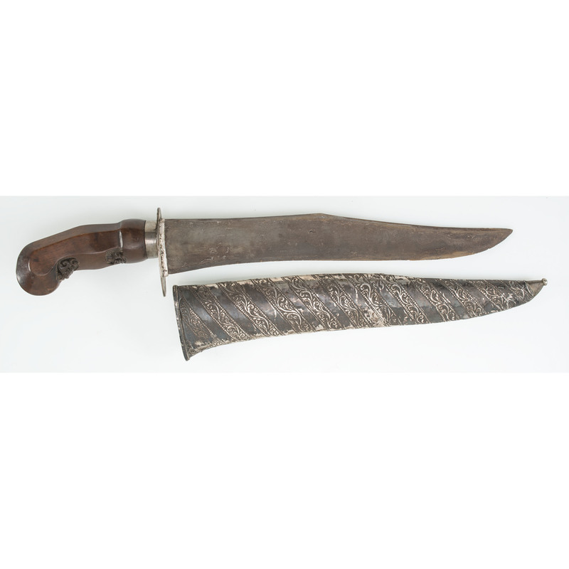Indonesian Knife with Kris Handle
