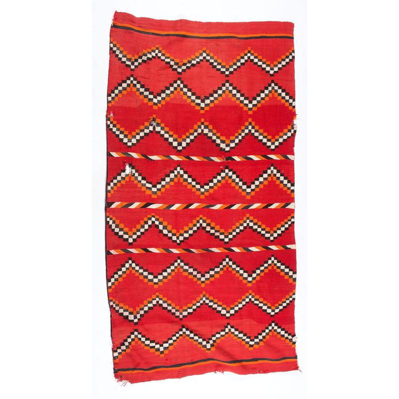 Navajo Transitional Weaving