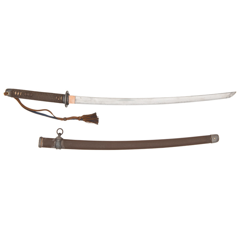 Japanese WWII Imperial Hand Forged Marine Samurai Sword