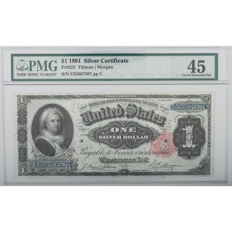 United States $1 Bank Note Series of 1891