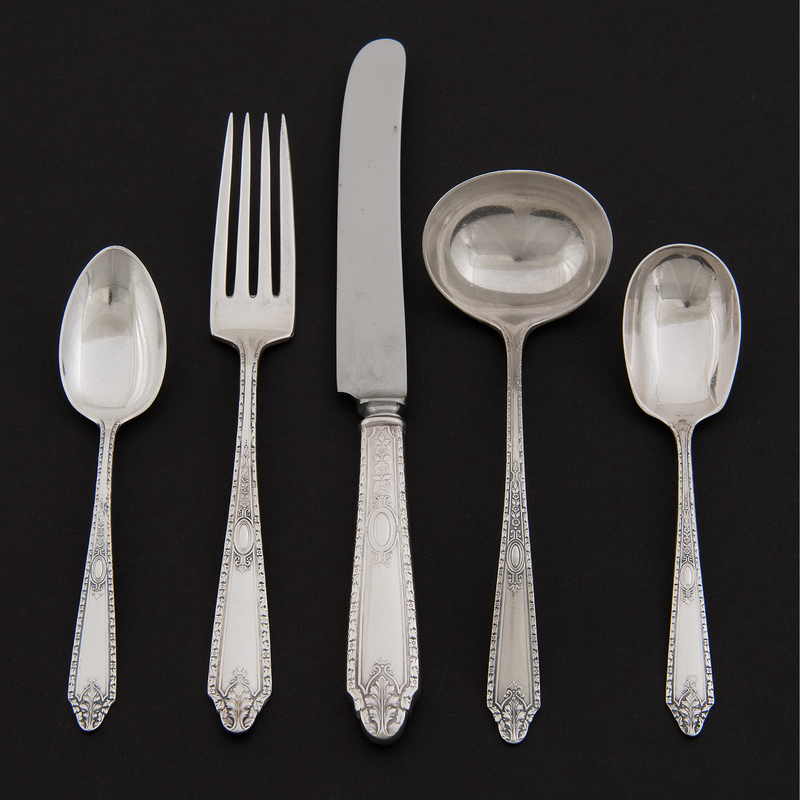 Gorham and Whiting Sterling Flatware, Cinderella