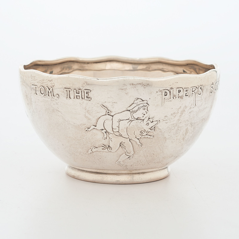 Tiffany Sterling Child's Nursery Bowl