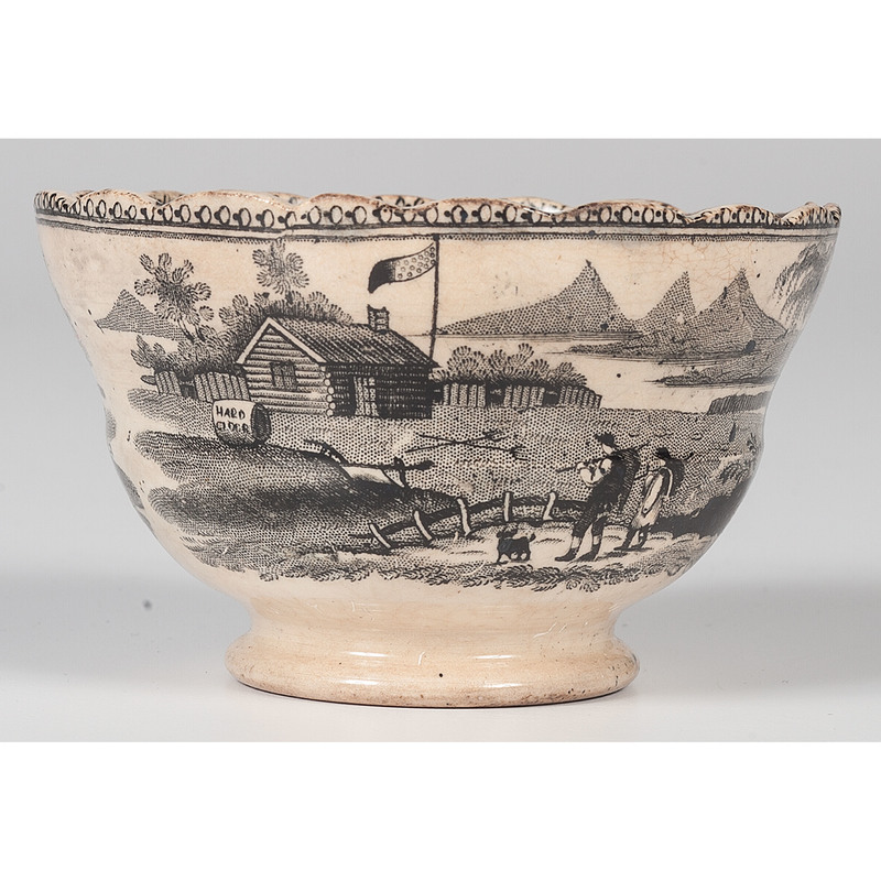 William Henry Harrison Presidential Campaign Cup