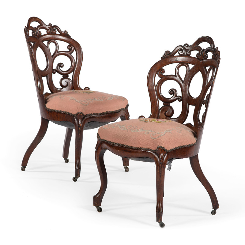John Belter & Co. Side Chairs