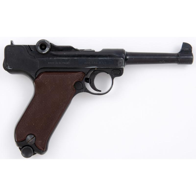 **Erma Copy Of Luger Pistol