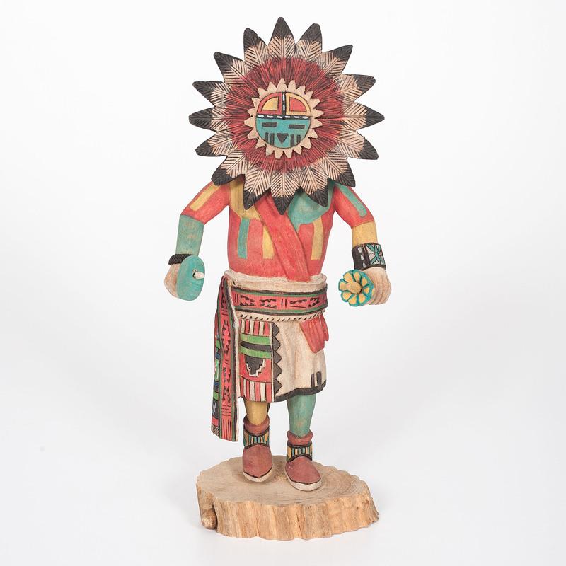 Tino Youvella (Hopi, b. 1941) Tawa Katsina