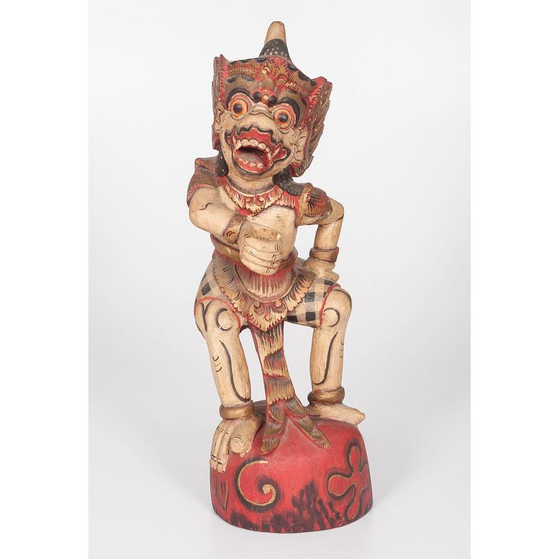Indonesian Carved Kris Holder