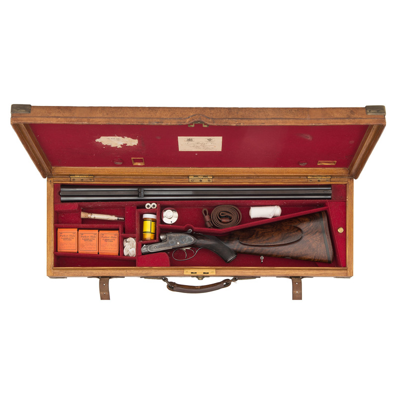 Cased Purdey Double Rifle