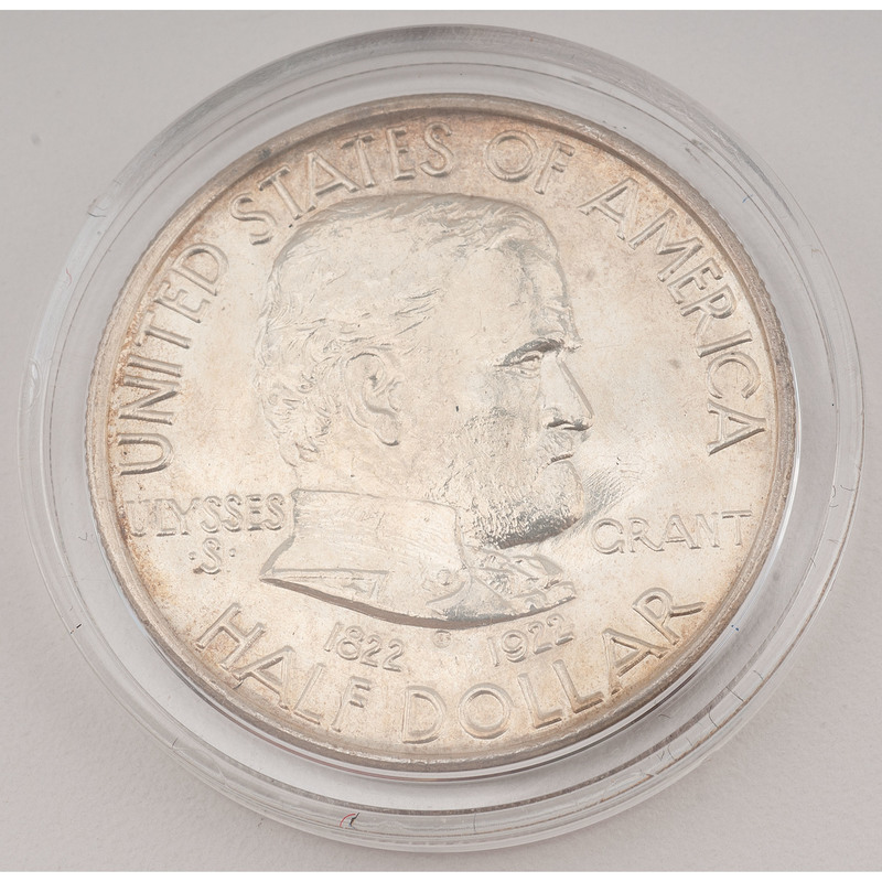 United States Grant Memorial Commemorative Half Dollar 1922