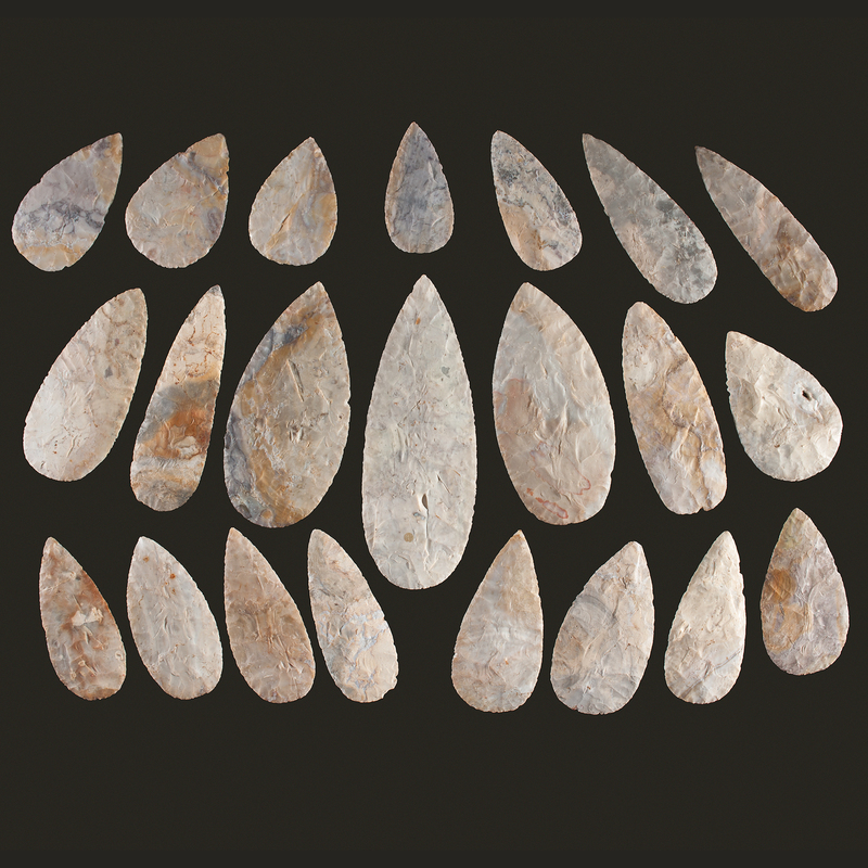 A Cache of Adena Blades, The Smith Cache