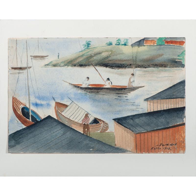 Alfred Partikel (German, 1888-1946)