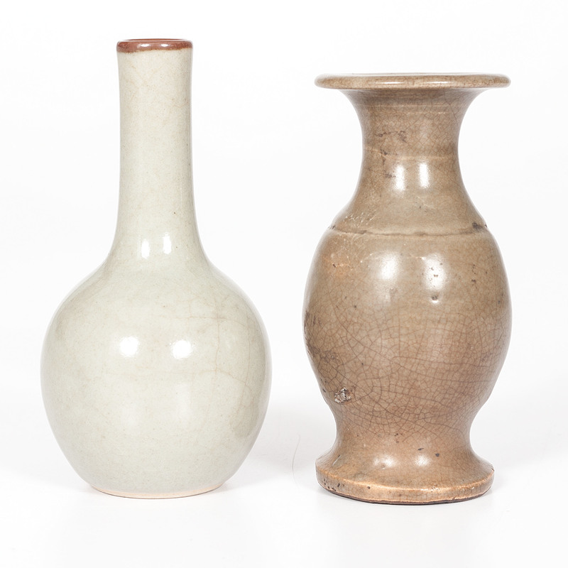 Chinese Cabinet Vases