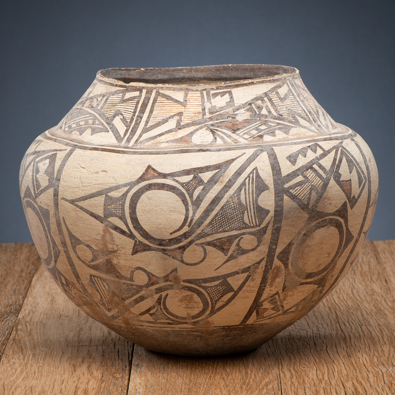 Zuni Pottery Olla, From The Harriet and Seymour Koenig Collection, NY