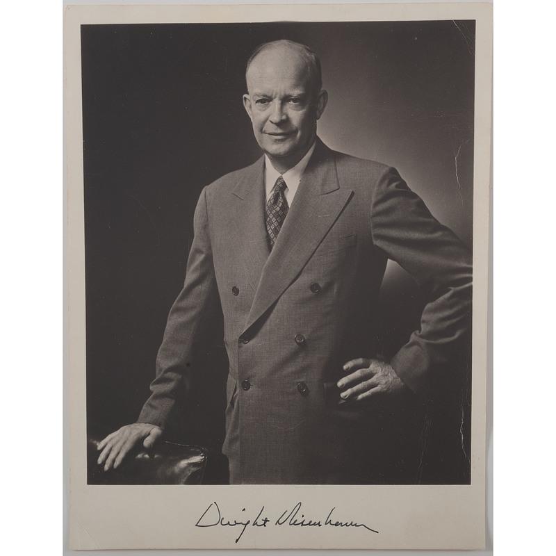 Dwight D. Eisenhower Signed Photograph