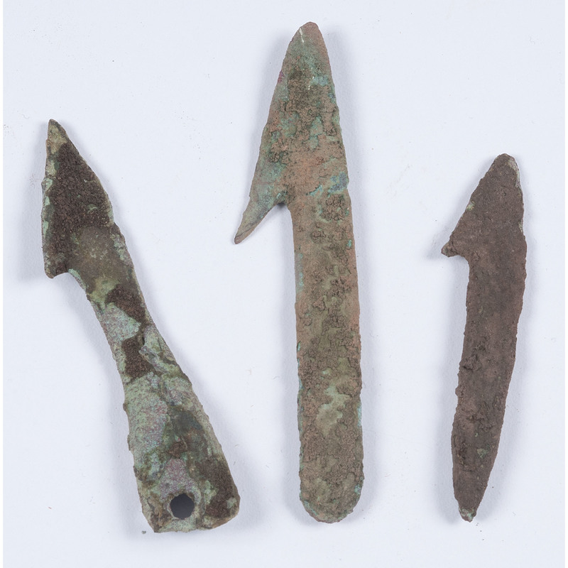 Old Copper Culture Harpoons, From the Collection of Roger Mussatti, Michigan