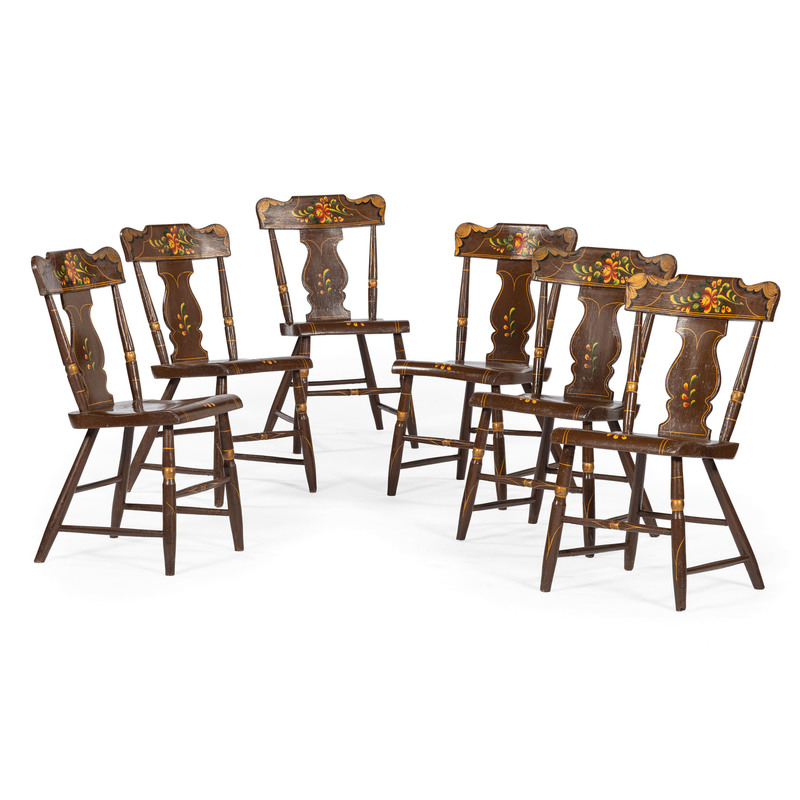 Pennsylvania Country Sheraton Side Chairs