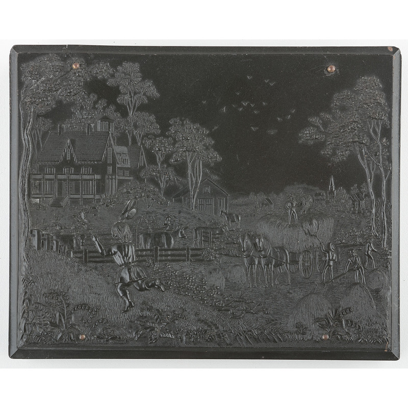 Half Plate Union Case, American Country Life 2, Black [Berg 1-12/3-4]