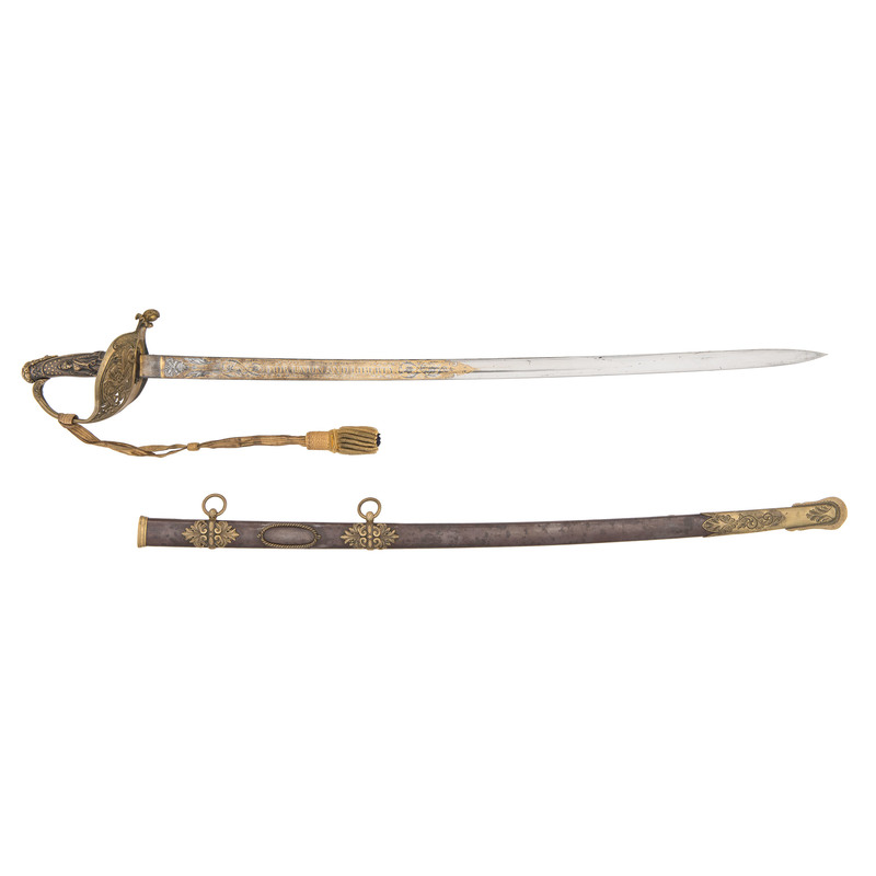 Presentation Grade Clauberg Model 1850 Staff and Field Officer's Sword