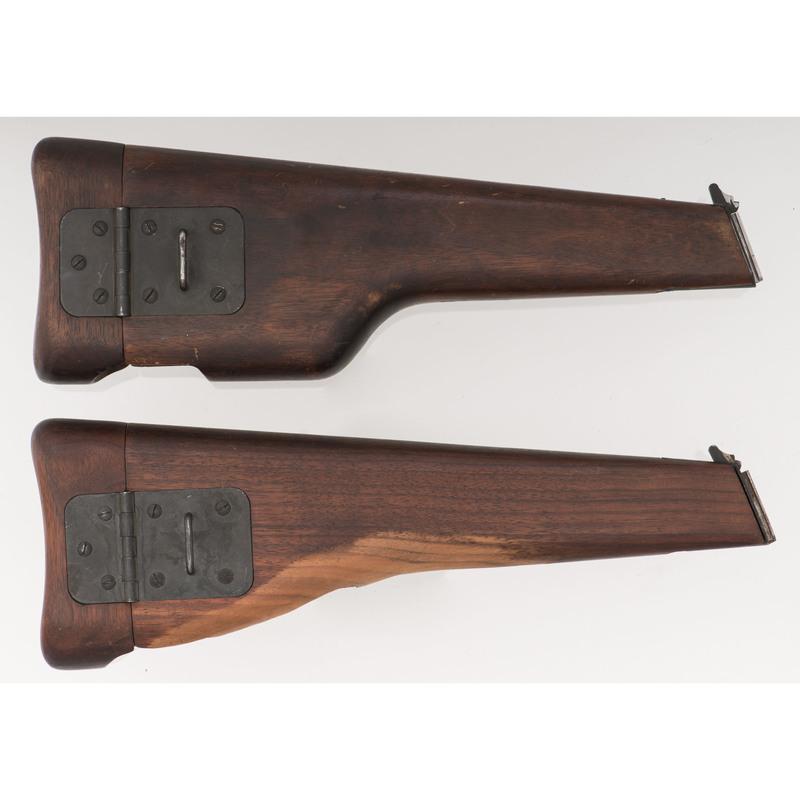 Lot of Two Browning Hi-Power Wood Shoulder Stocks