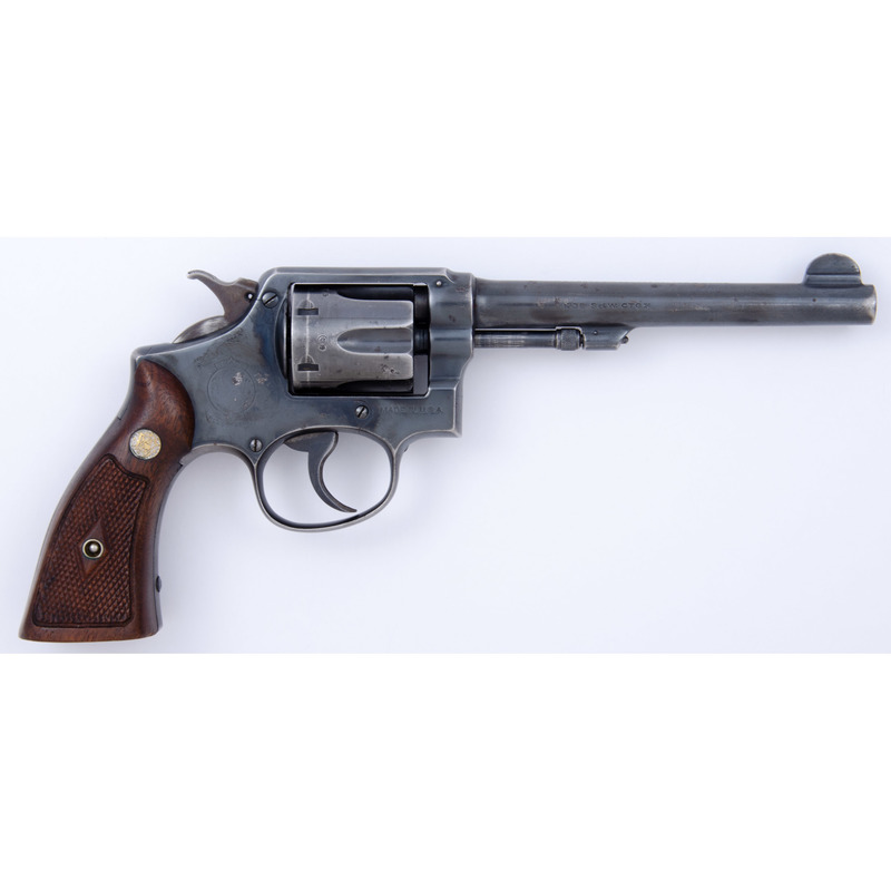 ** British-Marked Smith and Wesson M&P Revolver