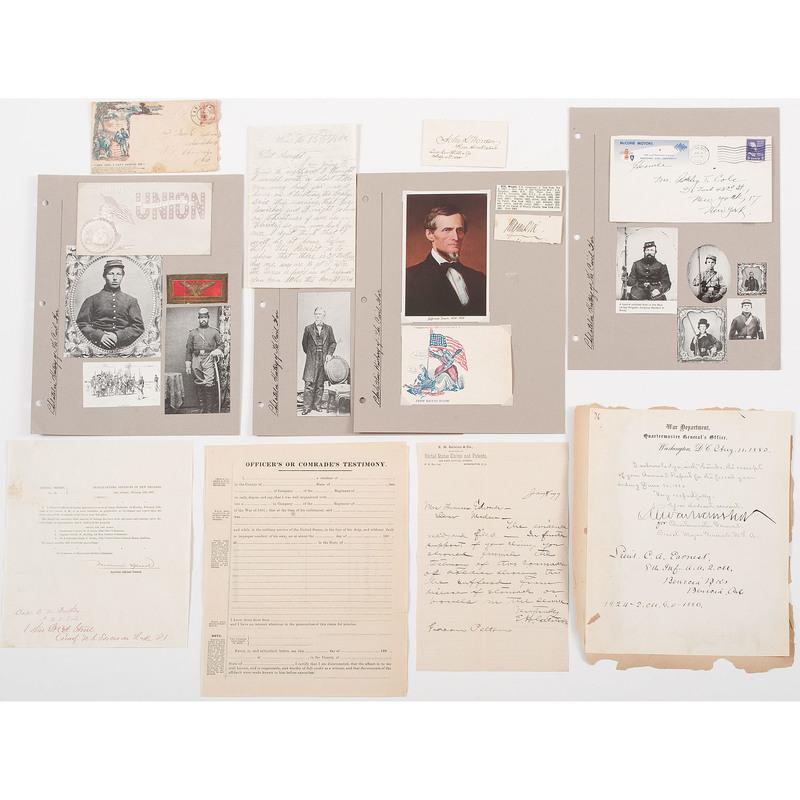 Military Signatures, Civil War to WWII, Plus
