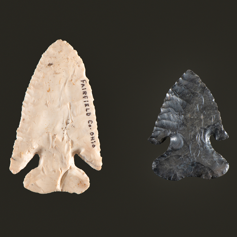 Two Thebes Points, From the Collection of Jon Anspaugh, Wapakoneta, Ohio