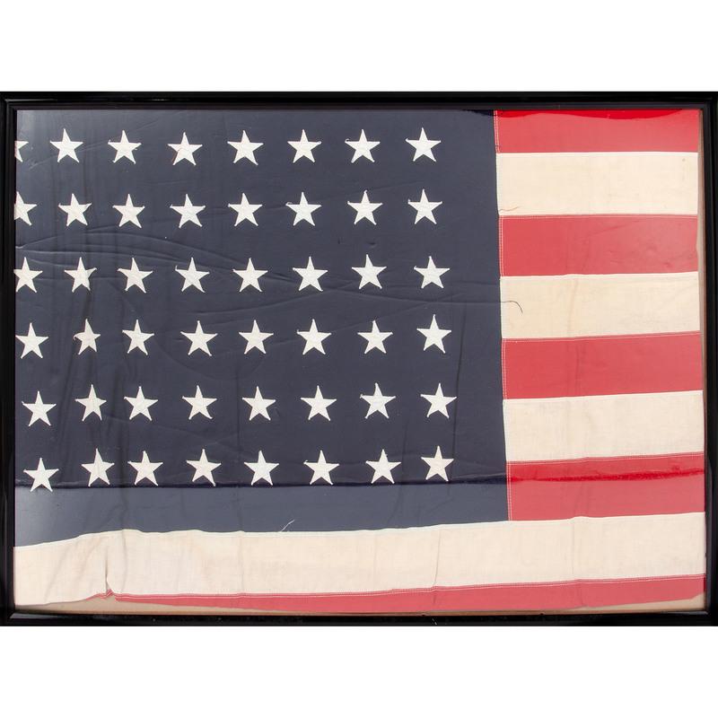 Cotton U.S. 48-Star Flag